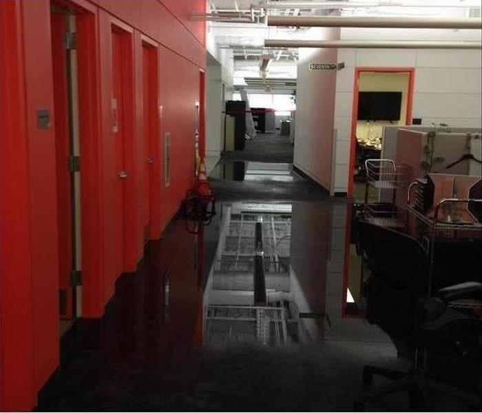 Water Damage Water Damage In Office Space